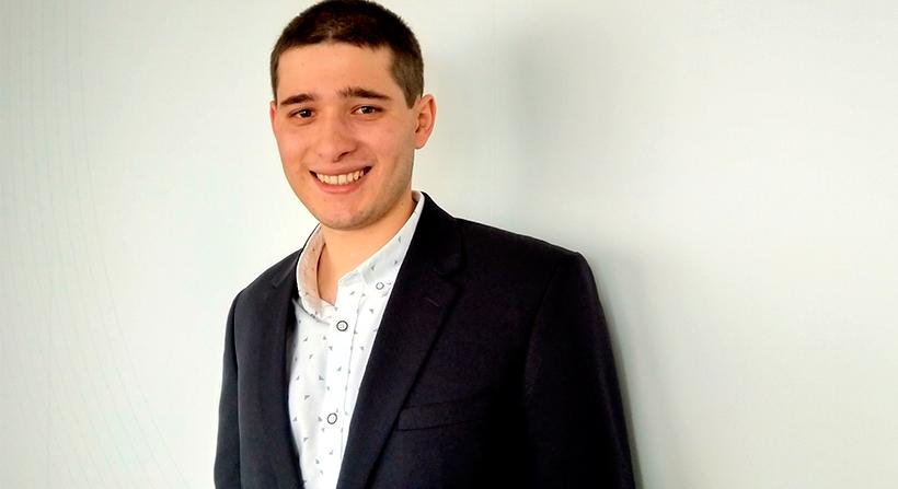 João Carvalho, aluno do Mestrado Integrado em Engenharia Informática (MIEI) da FCT/UNL