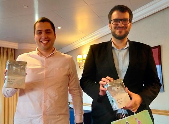 Tiago Aguiar e André Contente, consultores seniores