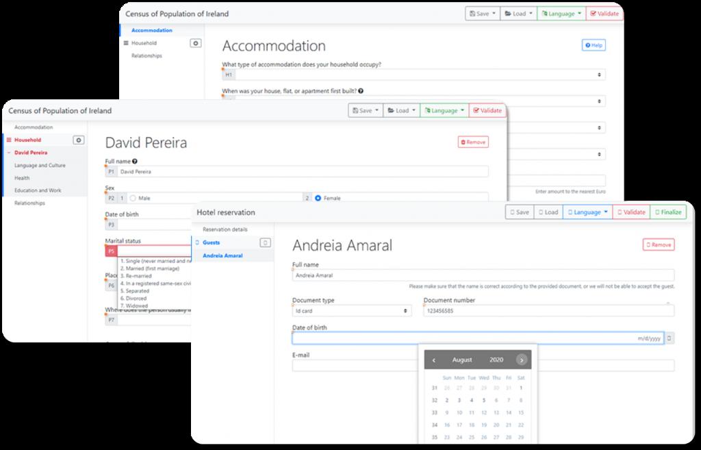 Lightweightform - produto Opensoft